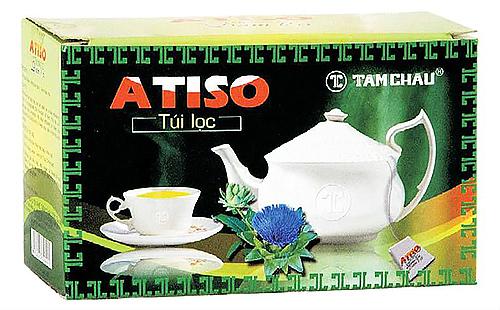 Вьетнамский чай из цветолож артишока