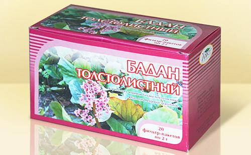 Полезная трава в упаковке с розовым кантиком