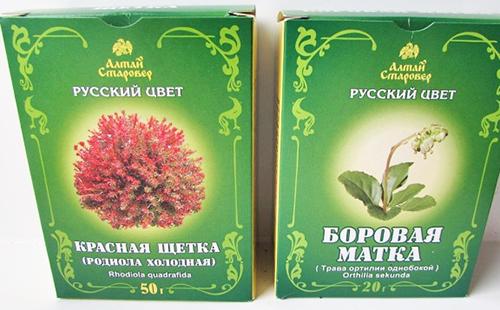 Разные травы с одинаковой пользой