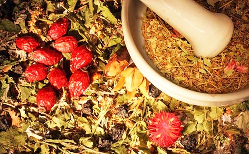 Травы и ягоды для сердца