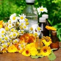 Масла, настойки и цветы