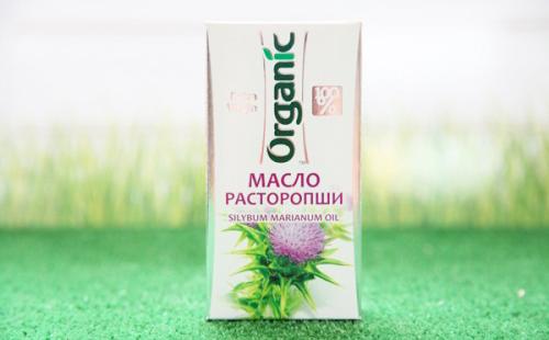 Стопроцентно органический продукт в белой коробке