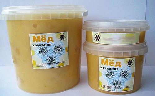 Редкий и полезный мёд в пластиковых баночках