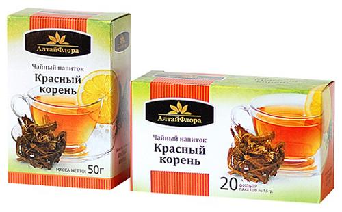 Чайный напиток двух видов