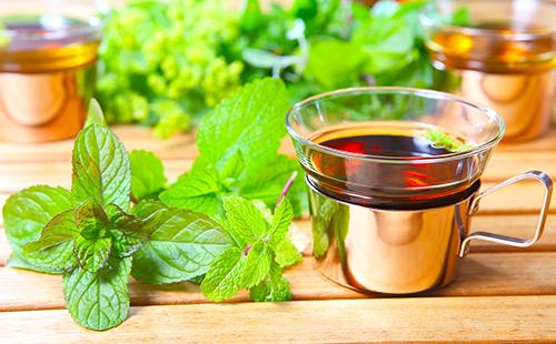 Чай из душистых листьев