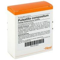 Пульсатилла в коробке с немецким описанием