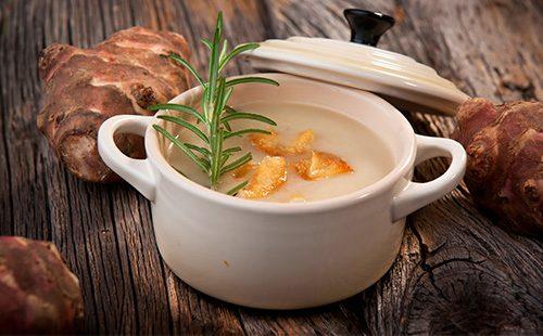Суп из топинамбура