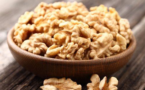 Очищеные ядра грецких орехов