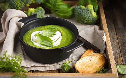 Суп-пюре из броккколи