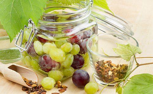 Ингредиенты для виноградного компота