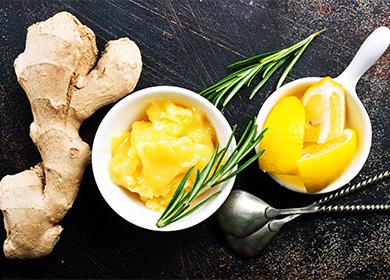 Действие имбиря лимона и меда