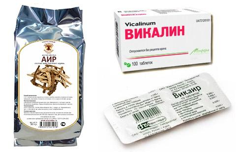 Касатик в лекарственных препаратах