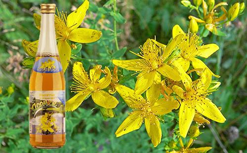 Спиртовая настойка зверобоя жёлтого