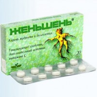 Тонизирующие таблетки в зелёной коробке