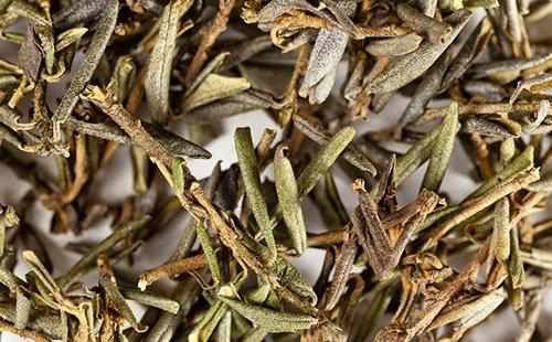 Сушёные цветки и листья