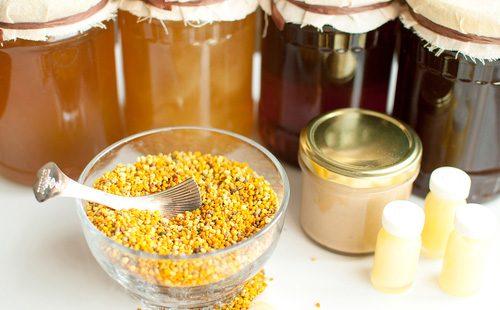Пыльца и мед