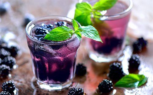 Напиток из шелковицы